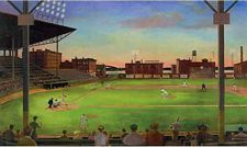 UR2027M Under the Lights Full Size Mural 9 feet by 15 feet